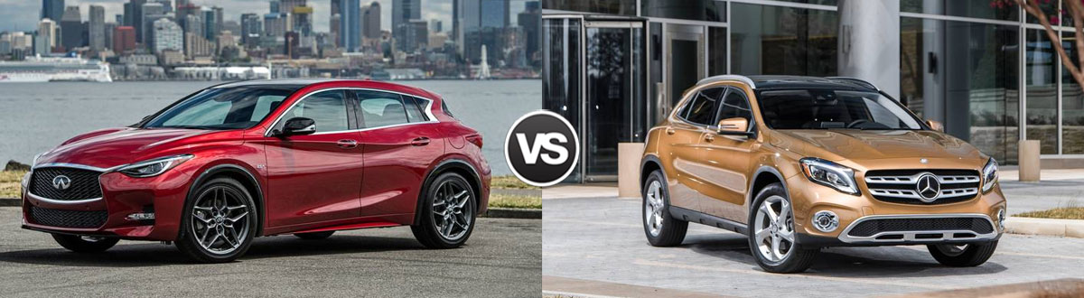 2019 INFINITI QX30 vs 2019 Mercedes-Benz GLA