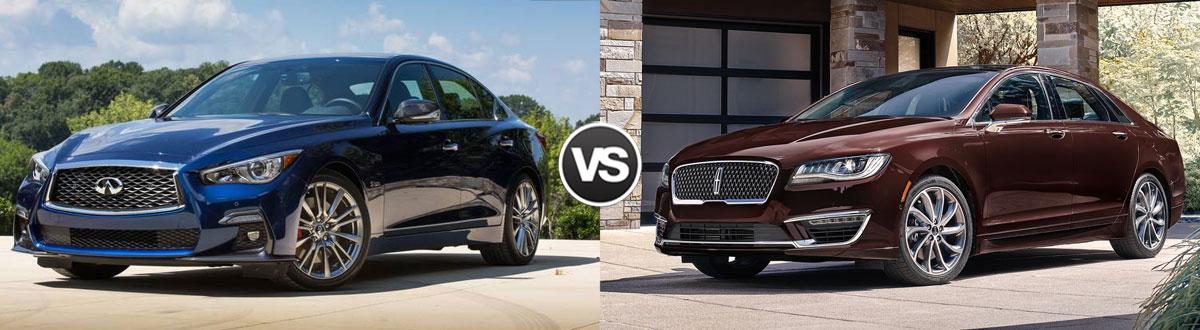 2020 INFINITI Q50 vs 2020 Lincoln MKZ