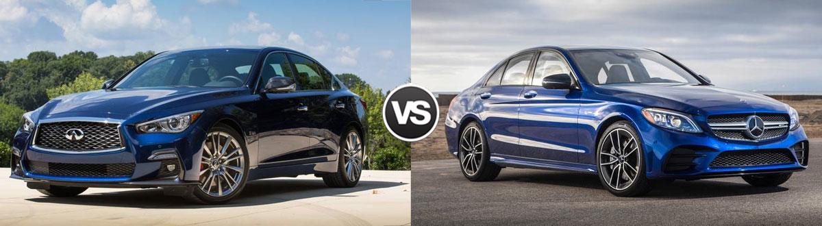 2020 INFINITI Q50 vs 2020 Mercedes-Benz C-Class