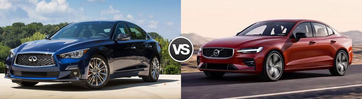 2020 INFINITI Q50 vs 2020 Volvo S60