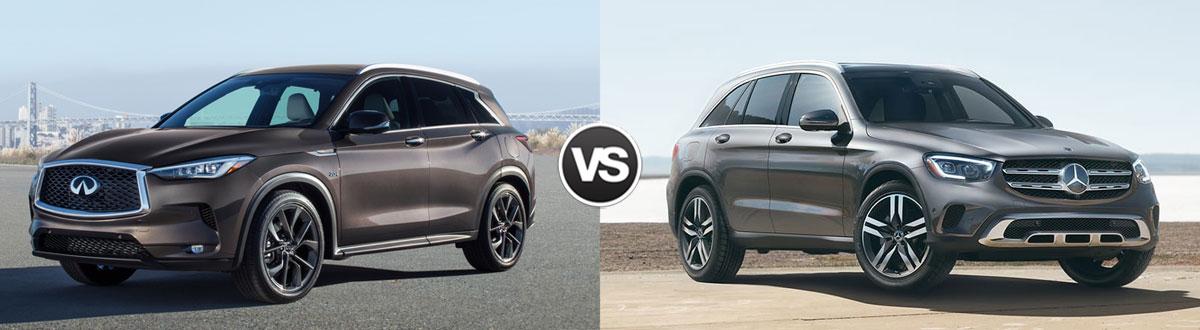 2020 INFINITI QX50 vs 2020 Mercedes-Benz GLC-Class