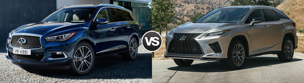 2020 INFINITI QX60 vs 2020 Lexus RX 350