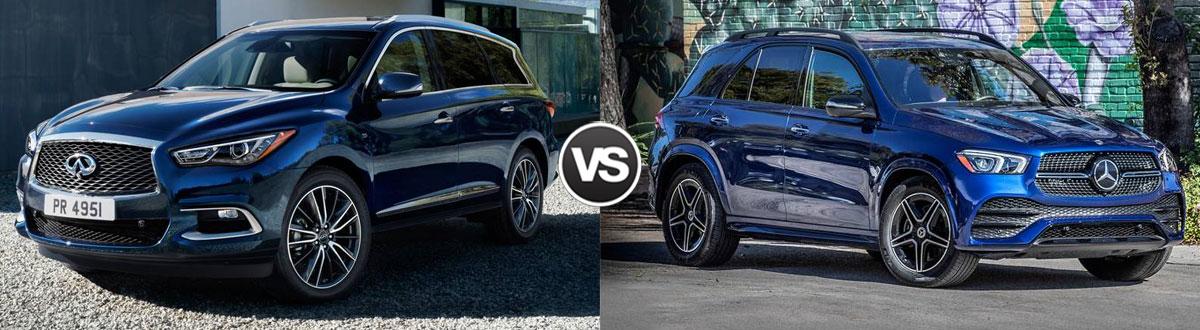 2020 INFINITI QX60 vs 2020 Mercedes-Benz GLE