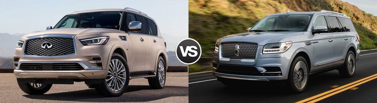 2020 INFINITI QX80 vs 2020 Lincoln Navigator