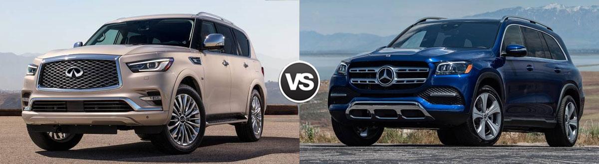 2020 INFINITI QX80 vs 2020 Mercedes-Benz GLS