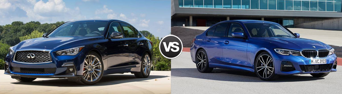 2021 INFINITI Q50 vs 2021 BMW 3 Series