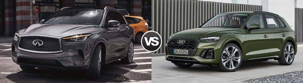 2021 INFINITI QX50 vs 2021 Audi Q5