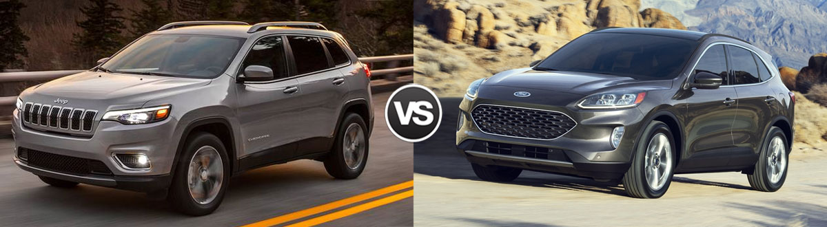 2020 Jeep Cherokee vs 2020 Ford Escape
