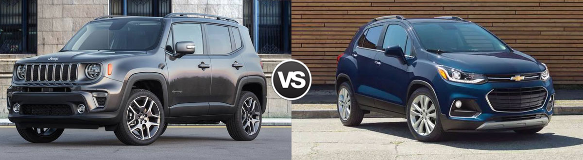 2020 Jeep Renegade vs 2020 Chevy Trax