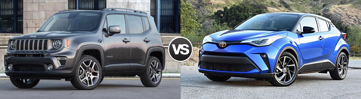 2020 Jeep Renegade vs 2020 Toyota C-HR