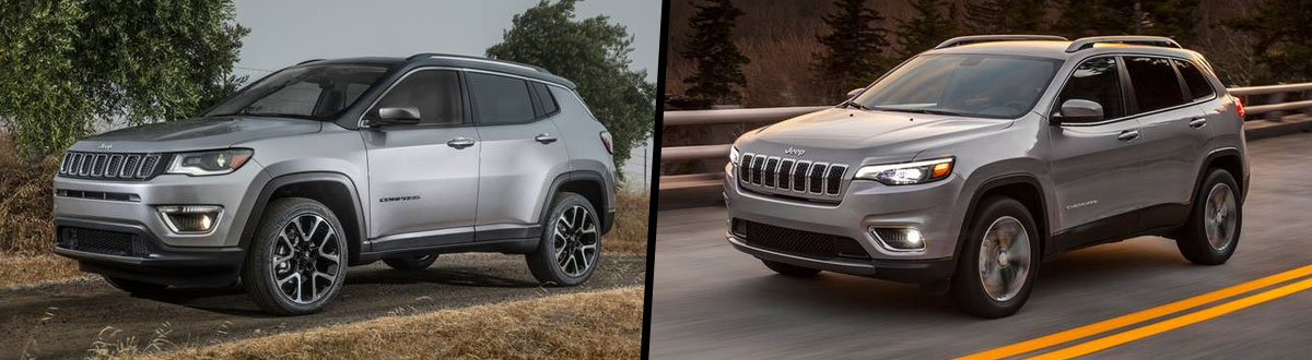 2020 Jeep Compass vs 2020 Jeep Cherokee
