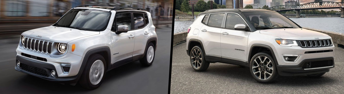 2020 Jeep Renegade vs 2020 Jeep Compass