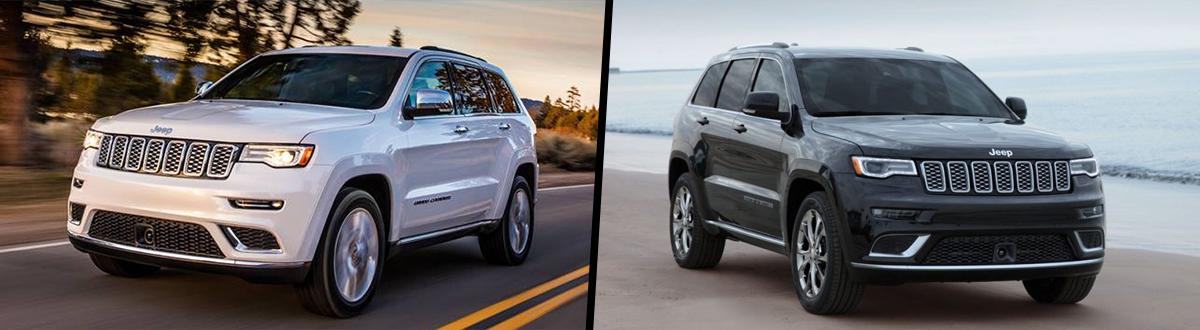 2020 Jeep Grand Cherokee vs 2019 Jeep Grand Cherokee