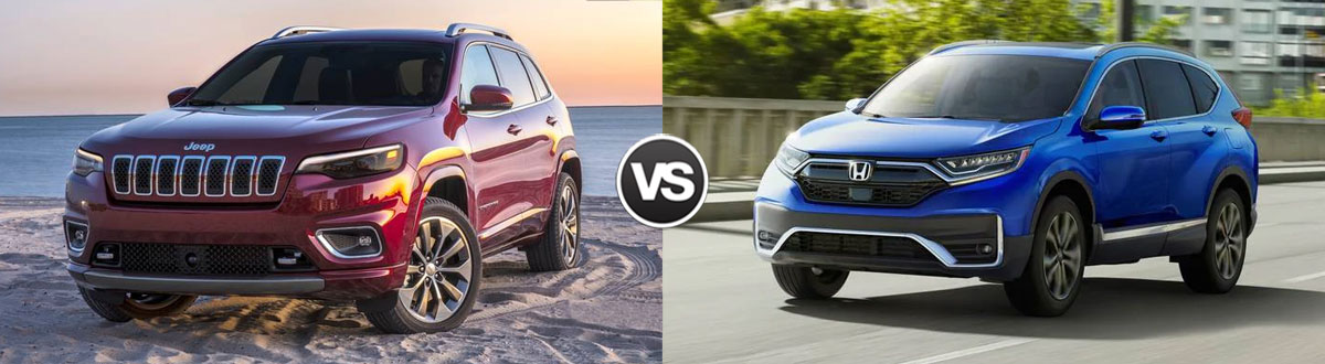 2021 Jeep Cherokee vs 2021 Honda CR-V