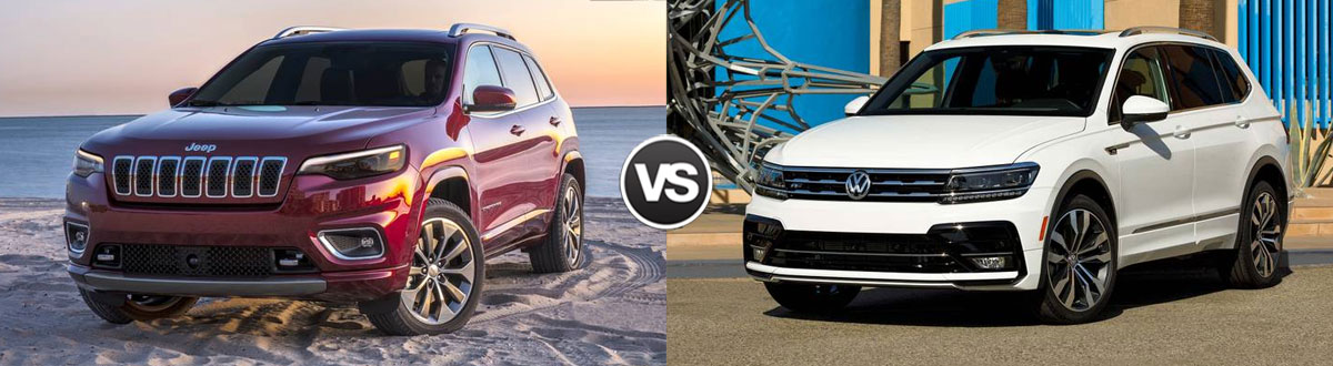 2021 Jeep Cherokee vs 2021 Volkswagen Tiguan