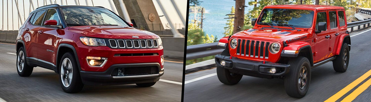 2021 Jeep Compass vs 2021 Jeep Wrangler