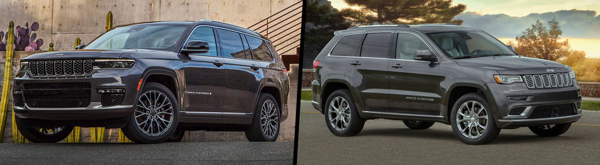 2021 Jeep Grand Cherokee L vs 2021 Jeep Grand Cherokee