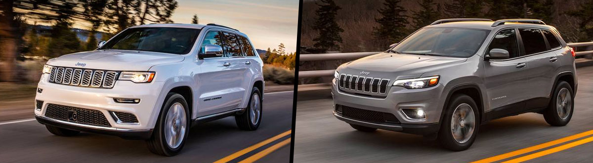 2021 Jeep Grand Cherokee vs 2021 Jeep Cherokee