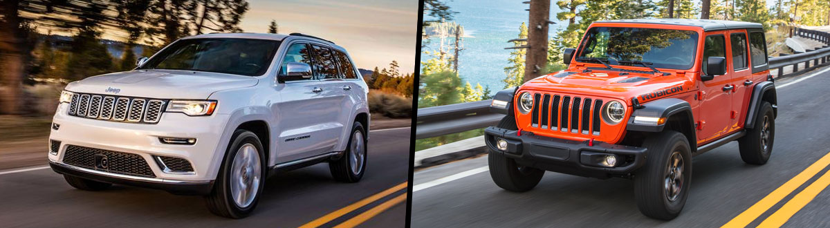 2021 Jeep Grand Cherokee vs 2021 Jeep Wrangler