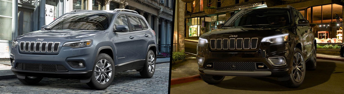 2021 Jeep Cherokee Latitude vs 2020 Jeep Cherokee Latitude