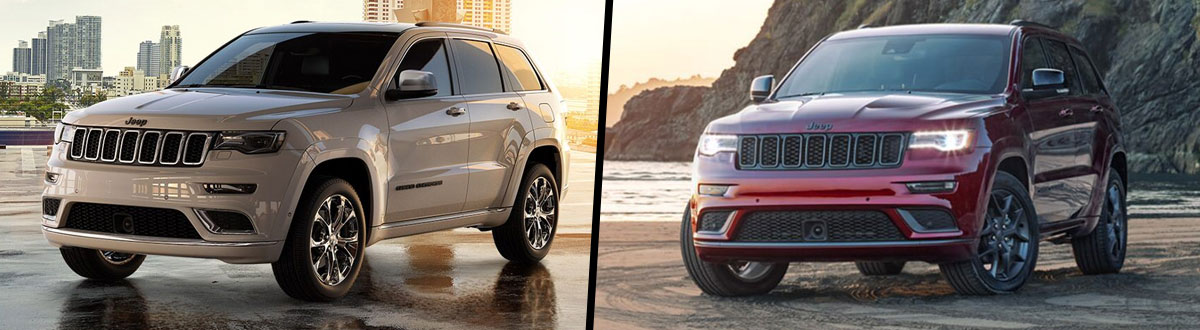 2021 Jeep Grand Cherokee vs 2020 Jeep Grand Cherokee