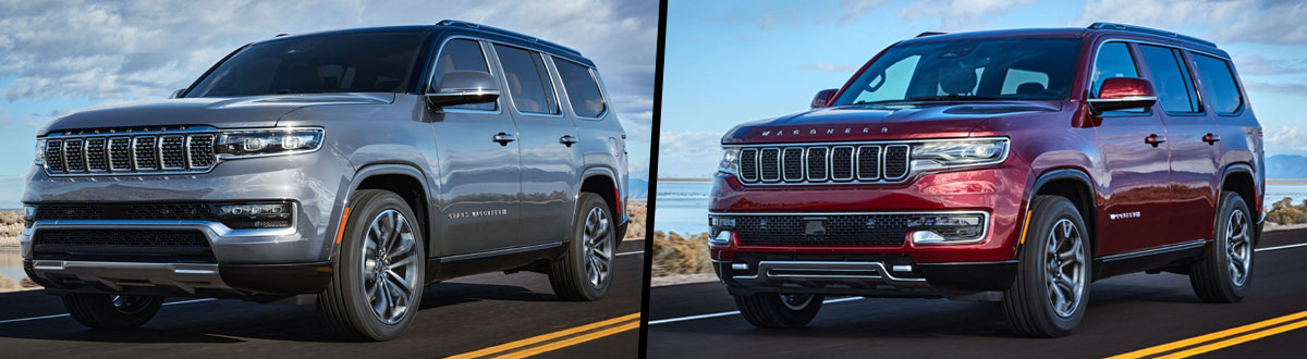 2022 Jeep Grand Wagoneer vs 2022 Jeep Wagoneer