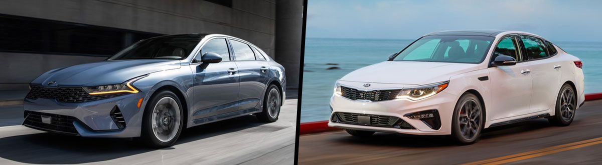 2021 Kia K5 vs 2020 Kia Optima