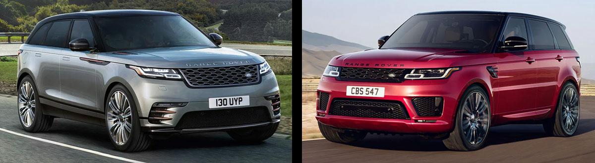 2020 Range Rover Velar vs 2020 Range Rover Sport