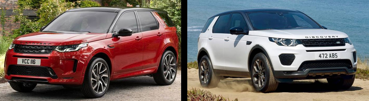 2020 Land Rover Discovery Sport vs 2019 Land Rover Discovery Sport