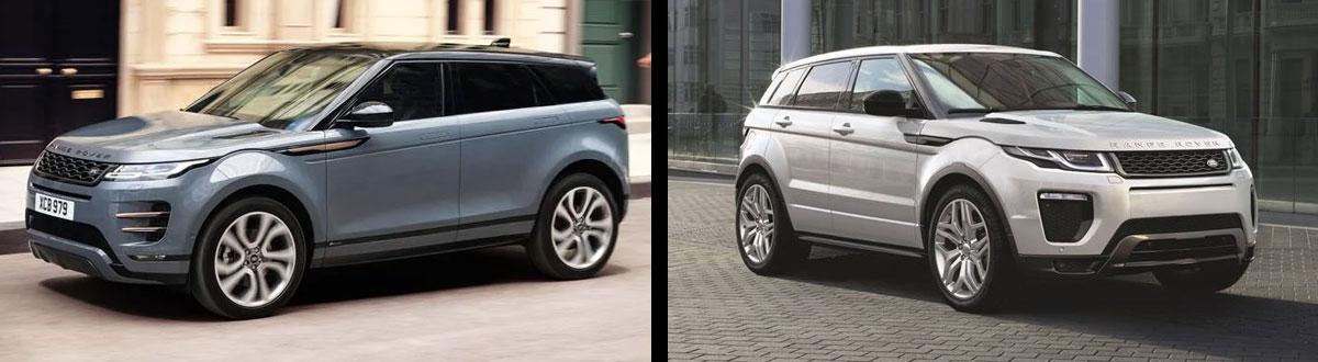 2020 Range Rover Evoque Vs 2019 Range Rover Evoque Union