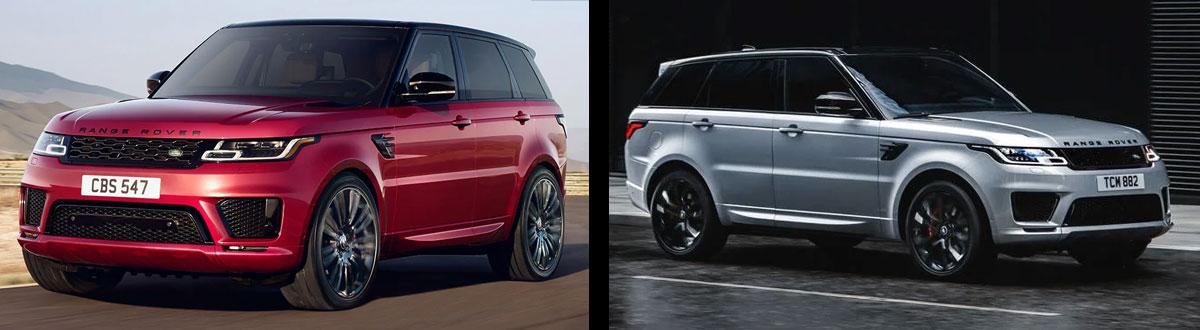 2020 Range Rover Sport vs 2019 Range Rover Sport