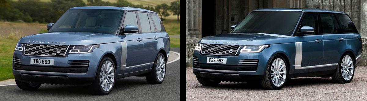 2020 Range Rover vs 2019 Range Rover