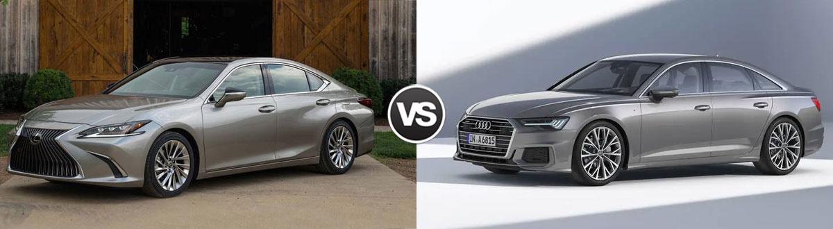 2019 Lexus ES vs 2019 Audi A6