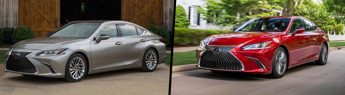 2019 Lexus ES 350 vs 2019 Lexus ES 300h