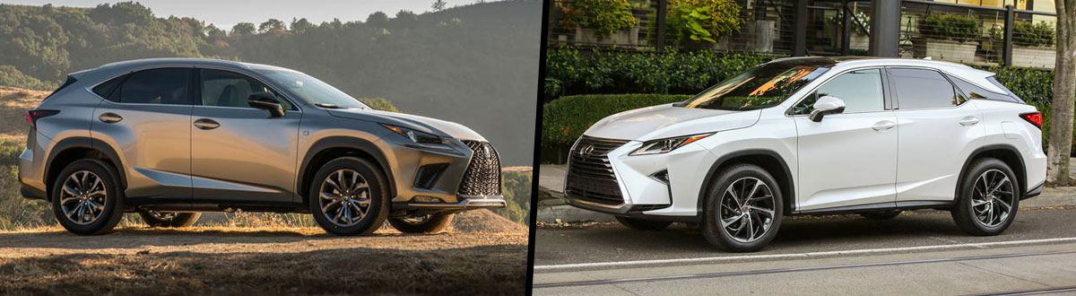 2019 Lexus NX 300 vs 2019 Lexus RX 350