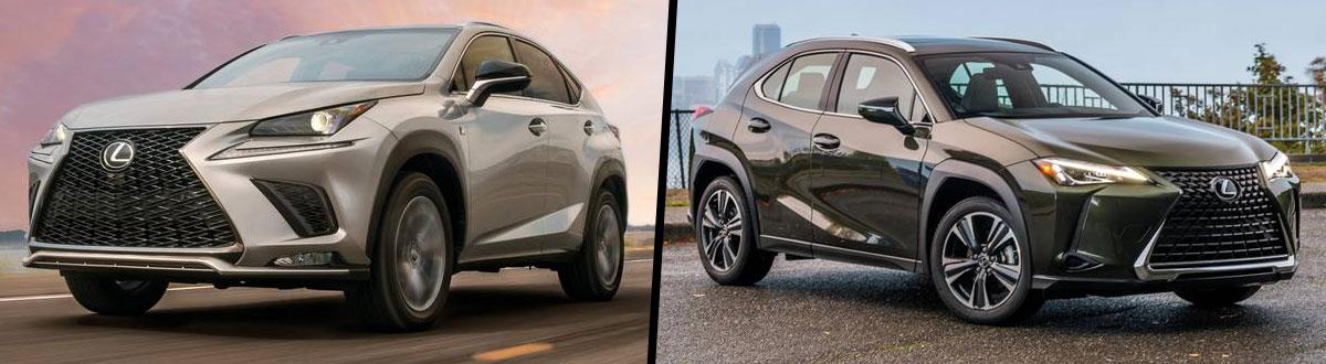 Lexus Nx Vs Rx >> Compare 2019 Lexus Nx Vs 2019 Lexus Ux Seattle Wa