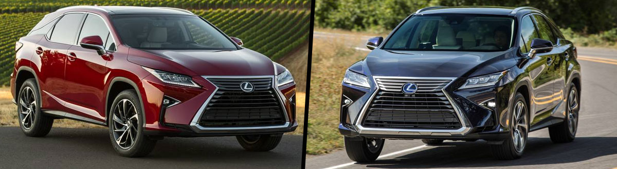 2019 Lexus RX 350 vs 2019 Lexus RX 450h