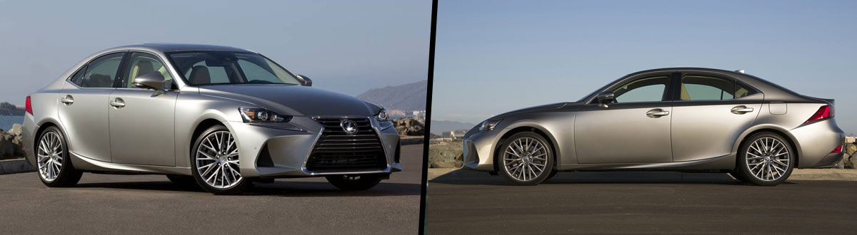 2019 Lexus IS 300 vs 2018 Lexus IS 300