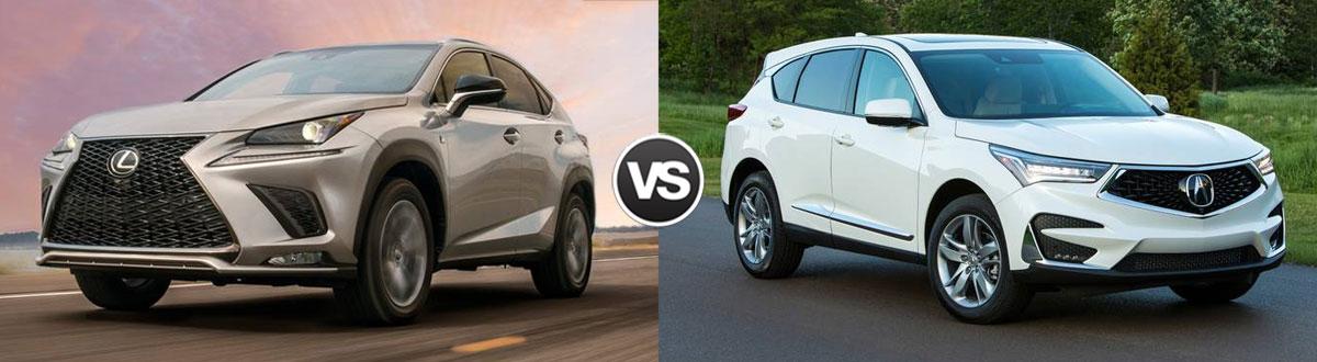 2020 Lexus NX 300 vs 2020 Acura RDX
