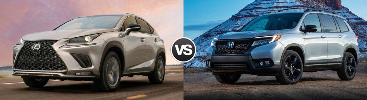2020 Lexus NX 300 vs 2020 Honda Passport