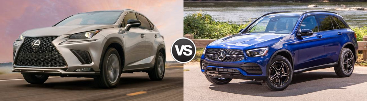 2020 Lexus NX 300 vs 2020 Mercedes-Benz GLC 300