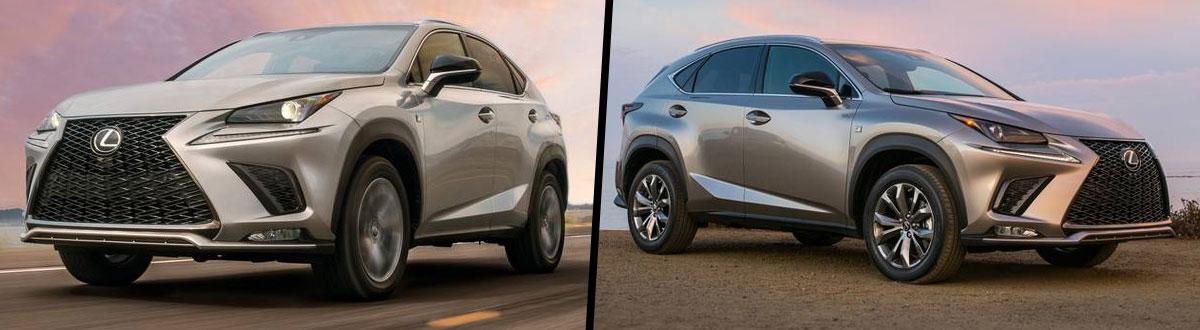 2020 Lexus NX 300 vs 2019 Lexus NX 300