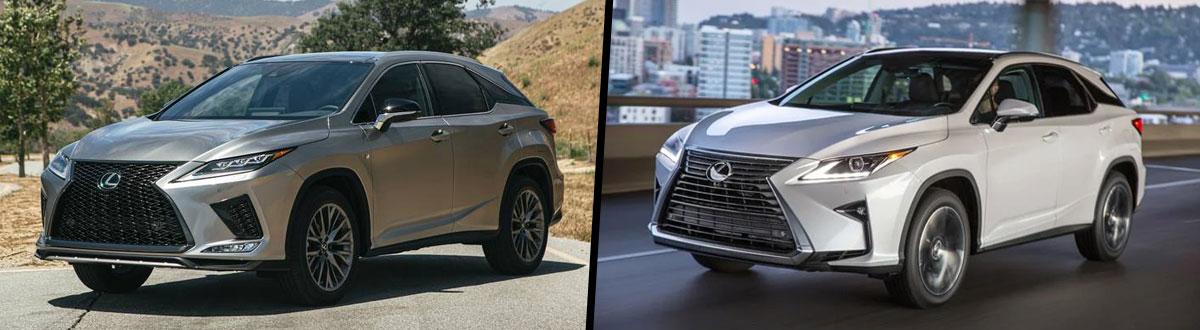 2020 Lexus RX 350 vs 2019 Lexus RX 350