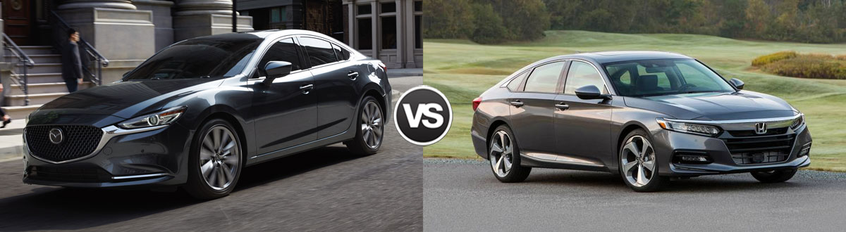 2020 MAZDA6 vs 2020 Honda Accord