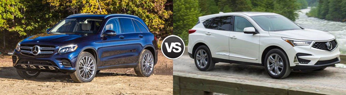 2019 Mercedes-Benz GLC 300 vs 2019 Acura RDX