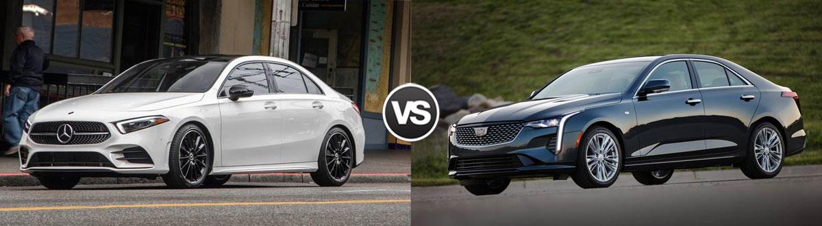 2020 Mercedes-Benz A-Class vs 2020 Cadillac CT4