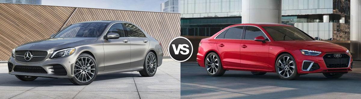 2020 Mercedes-Benz C-Class vs 2020 Audi A4