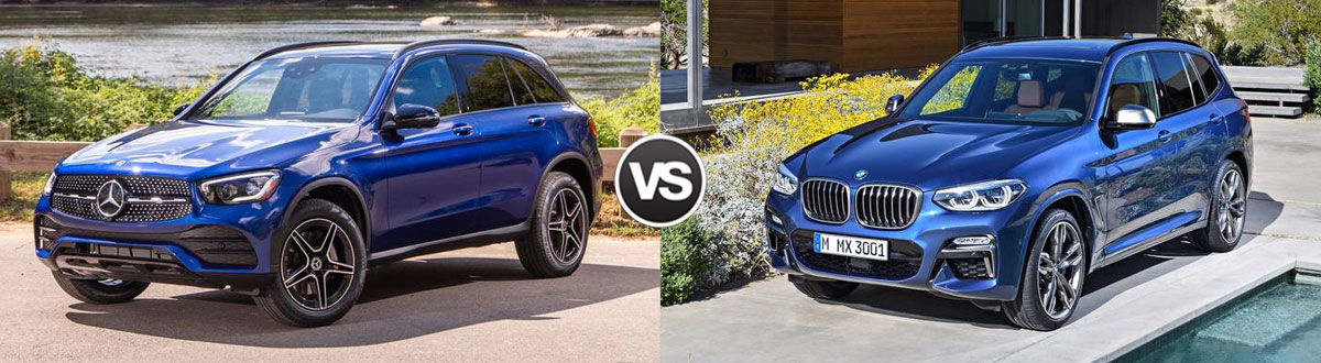 2020 Mercedes-Benz GLC vs 2020 BMW X3