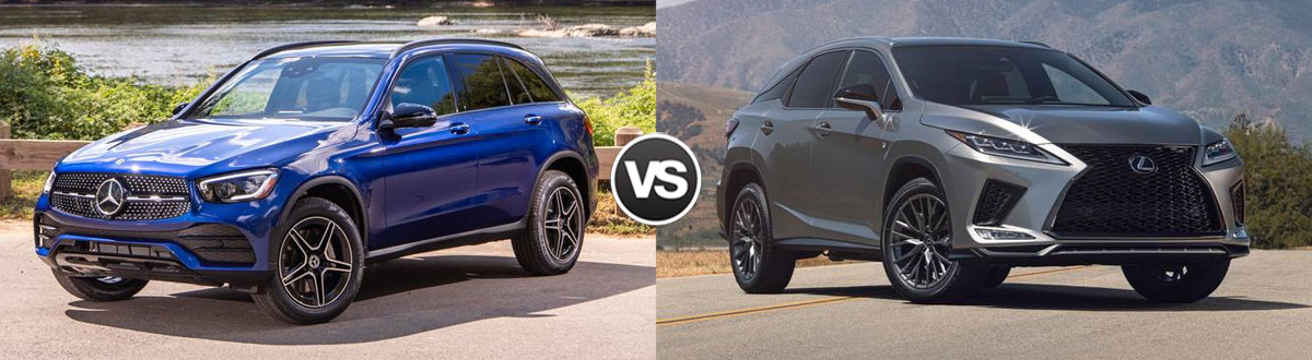 2020 Mercedes-Benz GLC 300 vs 2020 Lexus RX 350