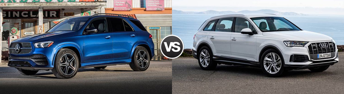 2020 Mercedes-Benz GLE vs 2020 Audi Q7